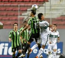 América-MG sai na frente, mas cede empate ao Coritiba no Independência